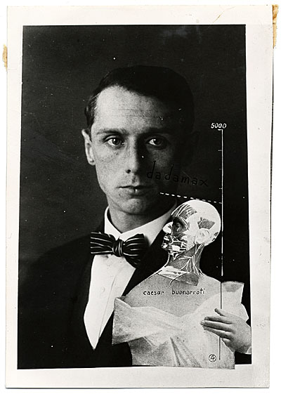 [Photo reproduction of Max Ernst's Punching ball or the immortality of Buonarroti]