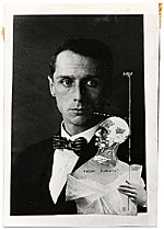 [Photo reproduction of Max Ernst's Punching ball or the immortality of Buonarroti ]