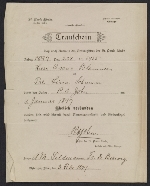 Oscar Bluemner marriage certificate