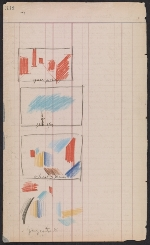 [Oscar Bluemner painting diary page 164]