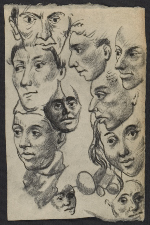 Drawing of heads (#DHD ND-60)