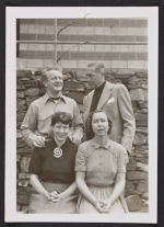 Peter and Ebie Blume with Ned and Nancy Holsten