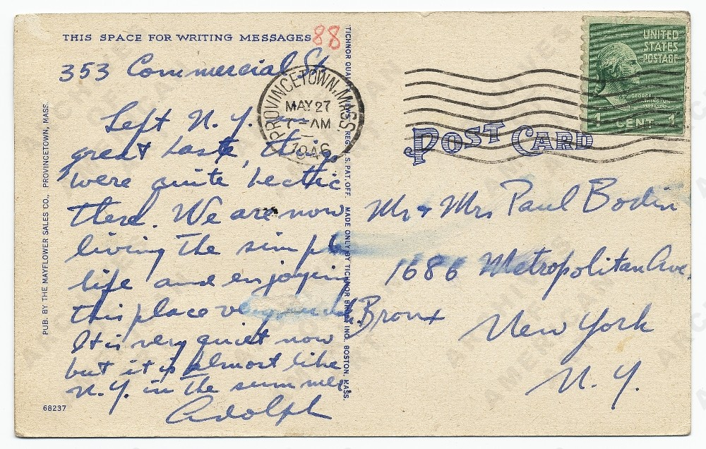 Image for postcard back