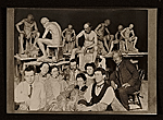 [Solon Borglum and fellow students at the Art Academy of Cincinnati ]