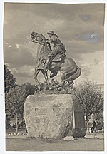 Monument dedicated to Rough Rider Buckey ONeill, by Solon Borglum in Prescott, Arizona