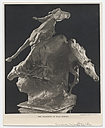 Stampede of Wild Horses by Solon Borglum