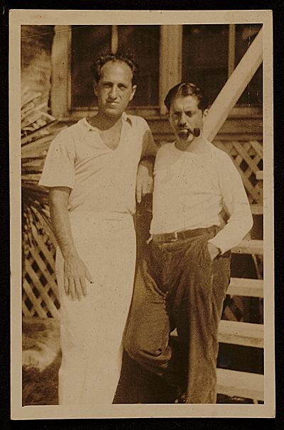 George Gershwin and Henry Botkin