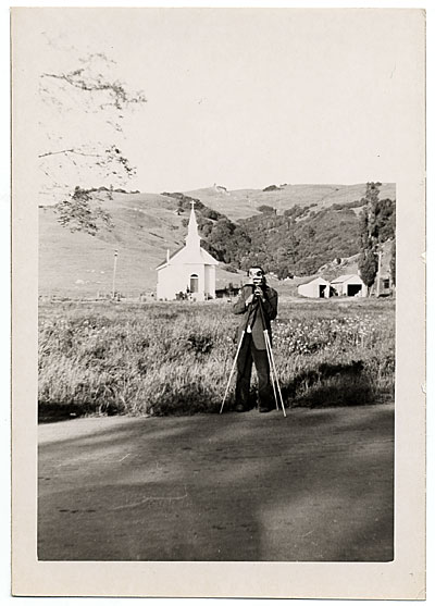 [Harry Bowden taking a photograph]
