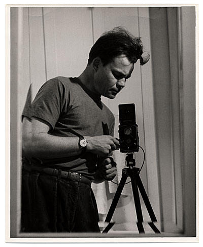 Harry Bowden with camera