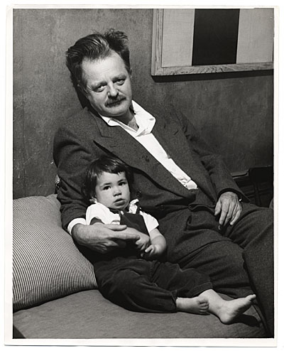 Kenneth Rexroth and son