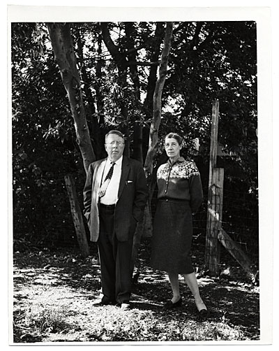 Yvor Winter and his wife