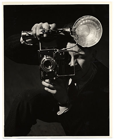 Wilfrid Zogbaum taking a picture