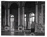 Al and Frances Bernstein in the Hall of Mirrors at Versailles.