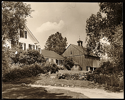 The Brush Farm, of George de Forest Brush, Dublin, New Hampshire