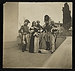 George DeForest Brush and others in costume