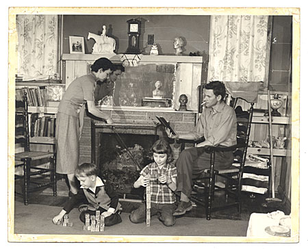 [Edgar W. Bowlin and family]