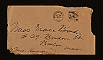[Paul Bransom, Washington, D.C. letter to Grace Bransom, Boston, Mass. 2]