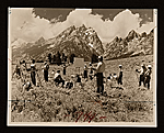 Teton Artists Associated outdoor class