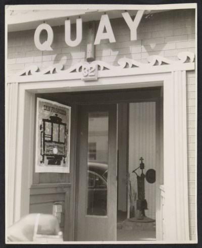 [Quay Gallery entrance]