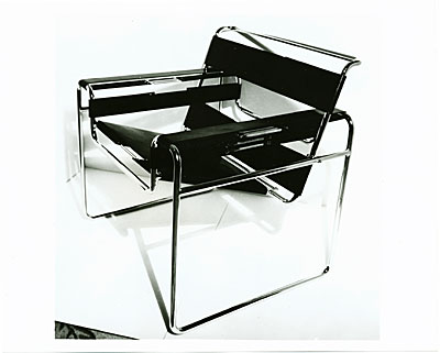 [Wassily chair designed by Marcel Breuer]