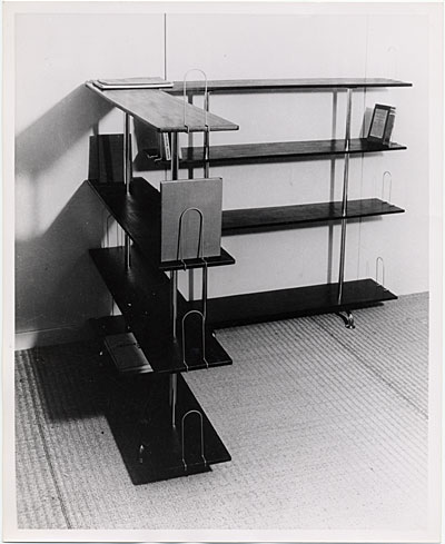 Bookcase designed by Marcel Breuer