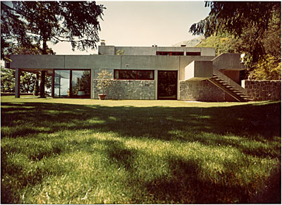 Koerfer House, Moscia, Tessin, Switzerland. Marcel Breuer and Herbert Beckhard, architects