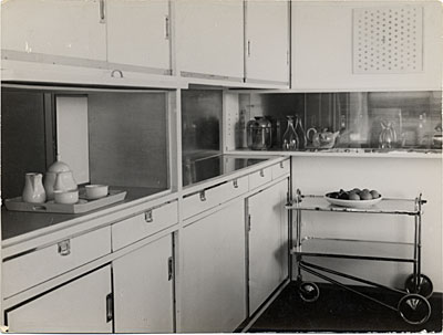 Harnischmacher House I, kitchen, Wiesbaden, Germany