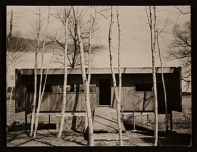 Caesar House, designed by Marcel Breuer, in Lakeville, Connecticut