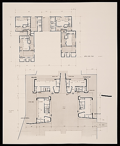 [site plan for Interama]