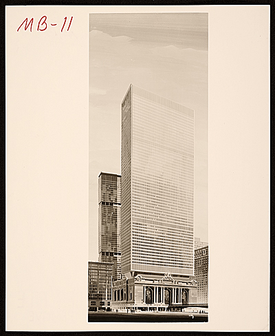 [Grand Central Air Rights Building, proposal drawing]
