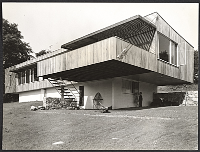 Breuer House I, New Canaan, Connecticut