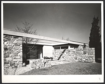 Breuer House II, New Canaan, Connecticut