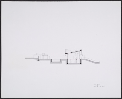 Plans for the Saier House in Calvados, France