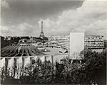 UNESCO Headquarters in Paris. Marcel Breuer and Bernard Zehrfuss, Architects; Pier Luigi Nervi, Structural Engineer