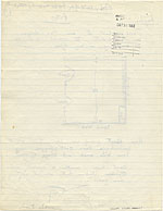 [Rufus Stillman, Litchfield, Conn. letter to Marcel Breuer, New York, N.Y. verso ]