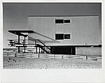 McMullen Beach House, North Elevation, Mantoloking, New Jersey
