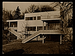 Harnischmacher House in Wiesbaden, Germany, designed by Marcel Breuer