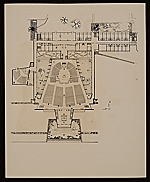 [Plan of: St. John's Abbey Church, monastic wing, studdent dormitory, and projected library, Collegeville, Minnesota 1]