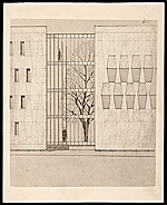 Concept drawing of the U.S. Embassy in The Hague, Netherlands