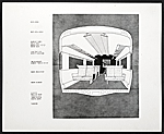 Plan showing interior of a train car for New Haven Railroad, ACF Industries