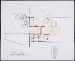 Plans for the Soriano House in Greenwich, Connecticut