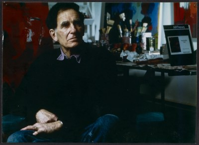 [Stan Brodsky in his studio]