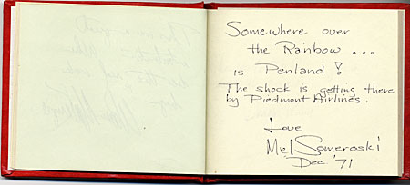 William Brown autograph book
