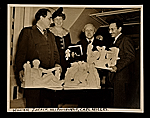 William Zorach, Eleanor Roosevelt, Carl Milles, and Edgar Miller
