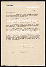 George Biddle letter to Edward Bruce