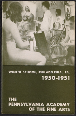 The Pennsylvania Academy of the Fine Arts winter school brochure