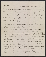 Jackson Pollock letter to Louis Bunce