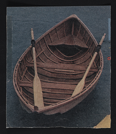 [Clipping of a rowboat]
