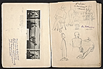 [William E. L. Bunn sketchbook #4 pages 2]