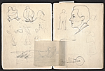 [William E. L. Bunn sketchbook #4 pages 5]